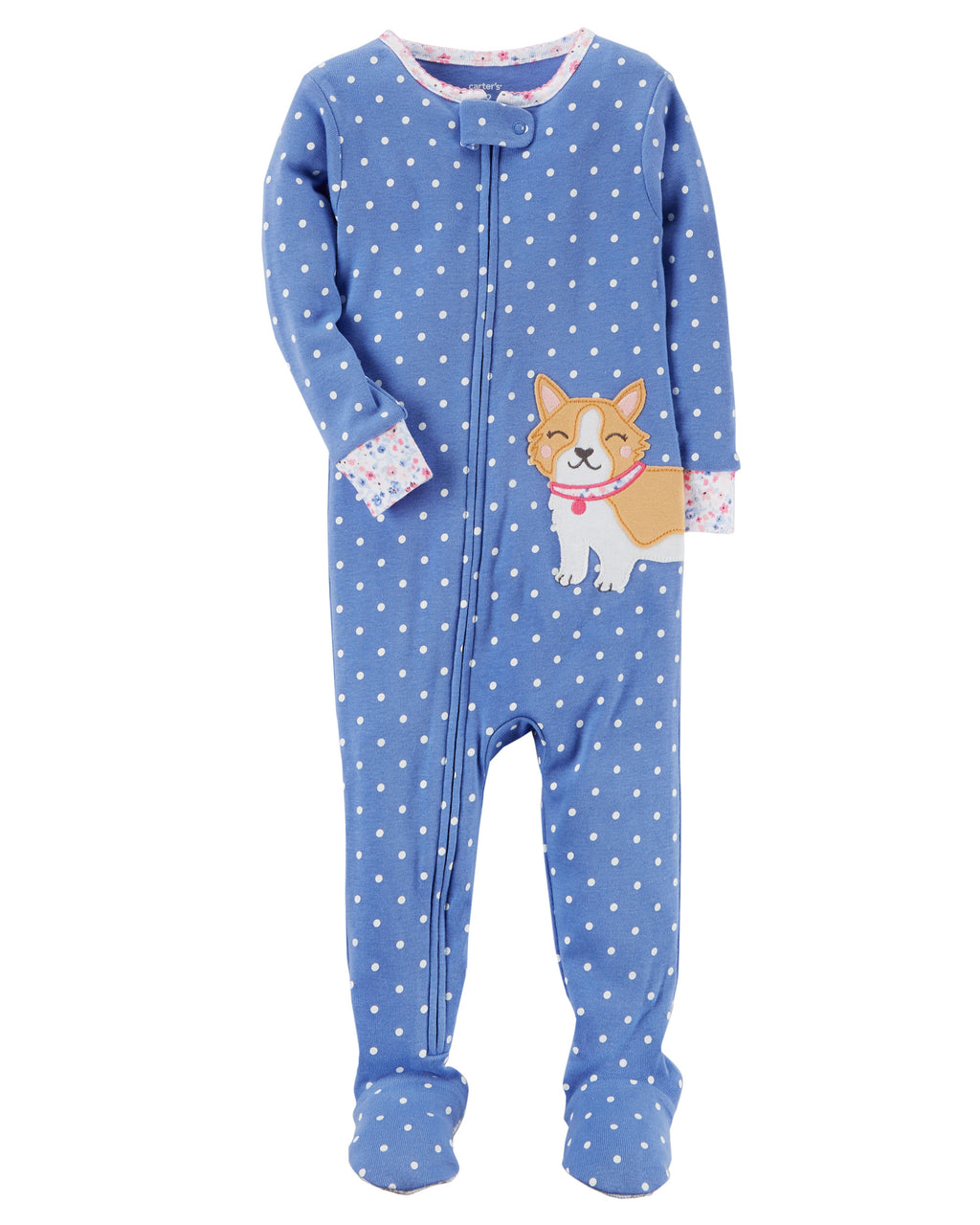Pijama CARTERS 1-Piece Dog Snug Fit Cotton PJs