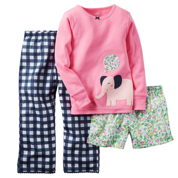 Pijama CARTERS 2 Piece Cotton & Jersey