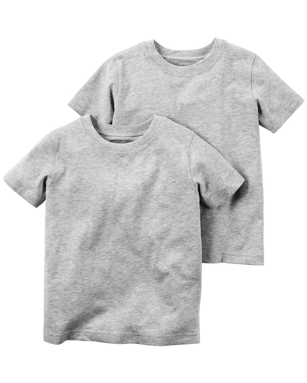 Remera CARTERS M/C basica lisa x1