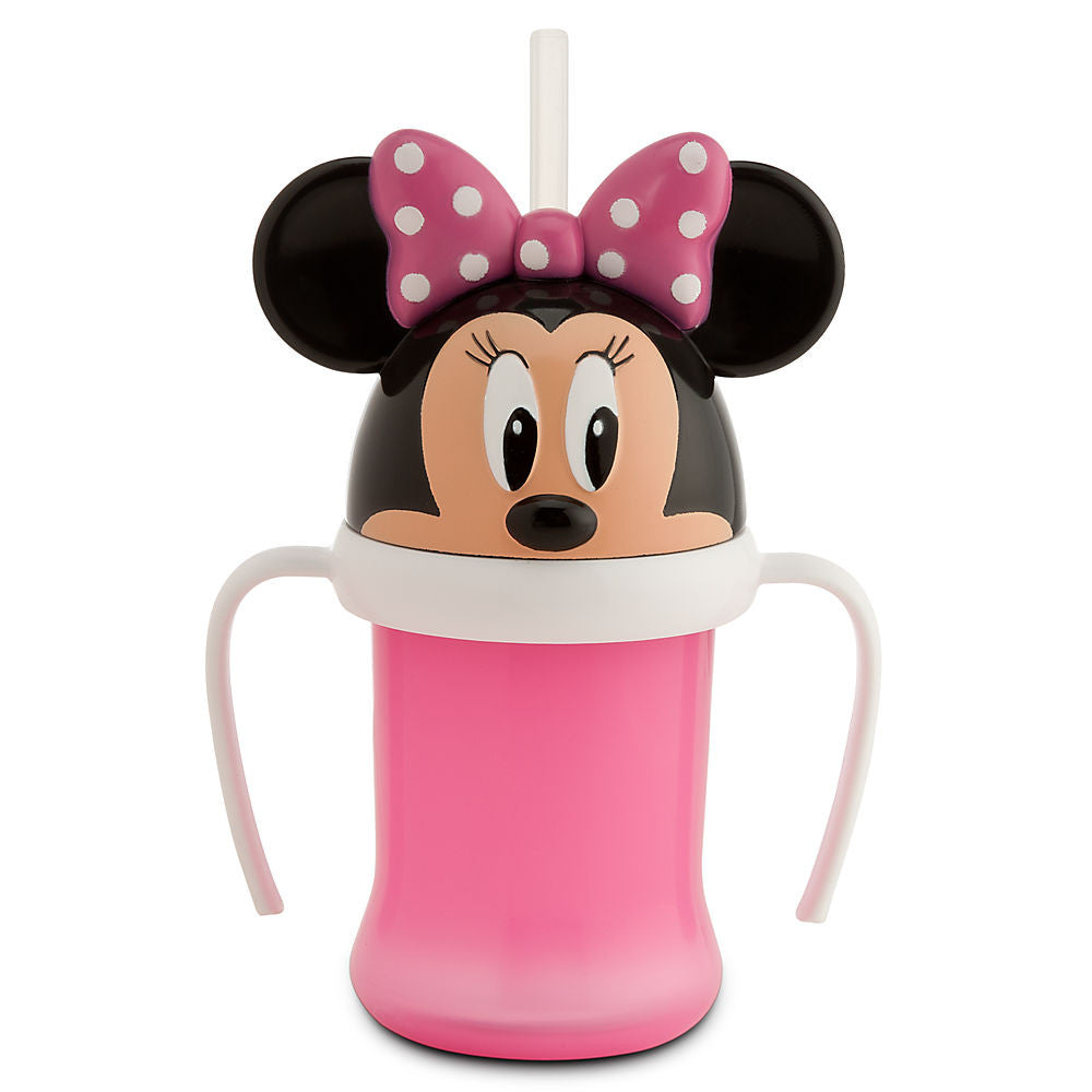 Vaso DISNEY STORE Minnie Mouse Head Cup with Handle for Kids