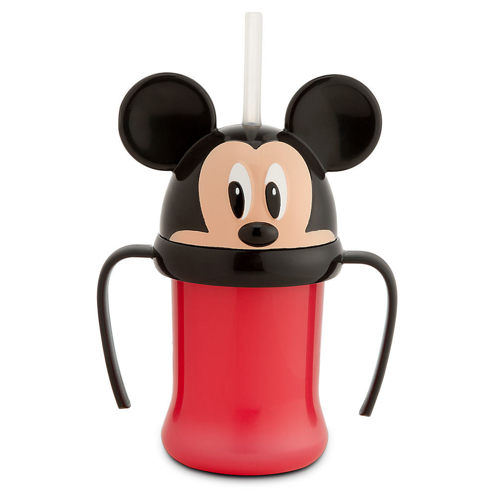 Vaso DISNEY STORE Mickey Mouse Head Cup with Straw for Kids