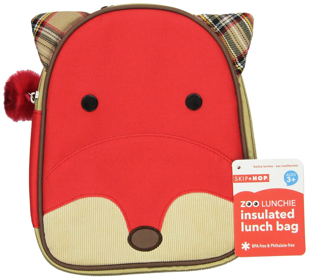 Lunchera SKIP HOP Zoo Lunchie Insulated Lunch Bag