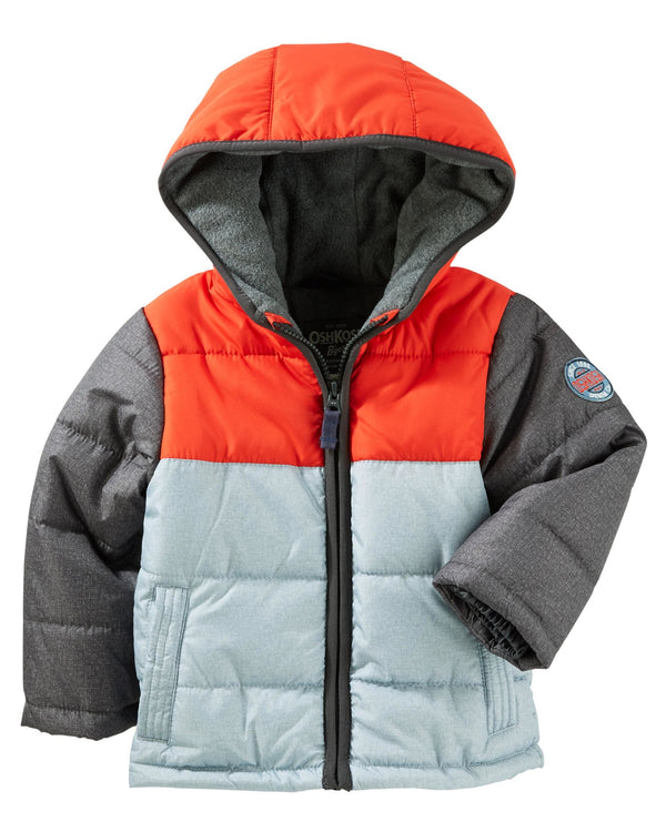 Campera OSHKOSH Colorblock Heavyweight Bubble Jacket