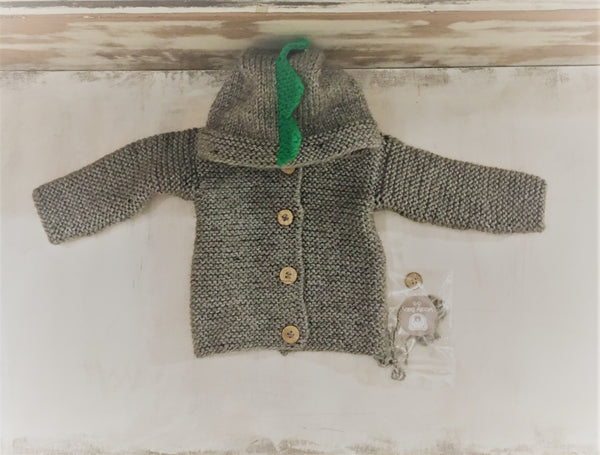 Campera Dino Woolly Baby