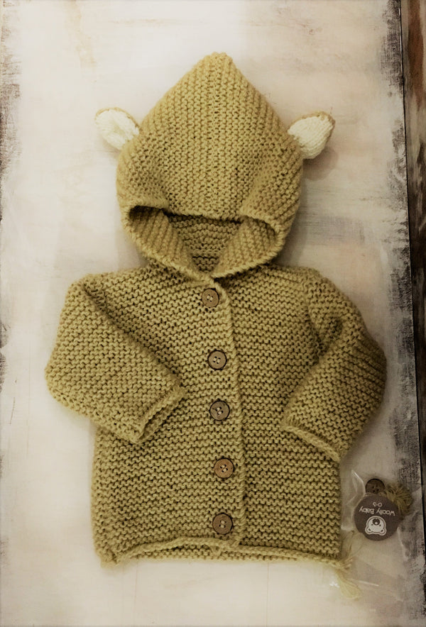 Campera Conejo Woolly Baby