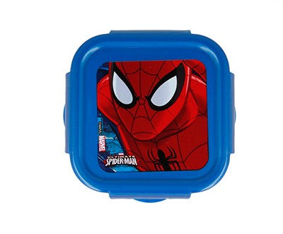 Tupper hermético para vianda Disney 290 Ml - SPIDERMAN