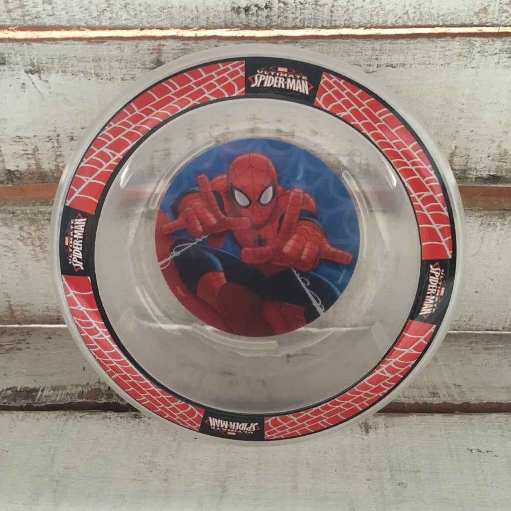 Plato Bowls Spiderman