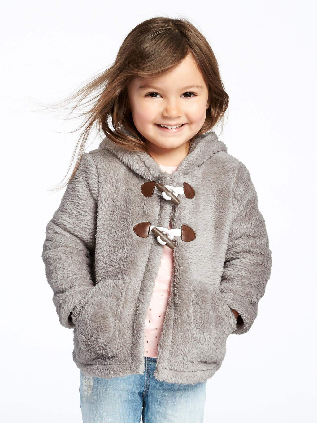 Campera OLD NAVY Hooded Sherpa Coat