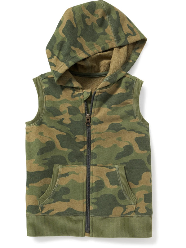 Chaleco OLD NAVY Sleeveless Full-Zip Hoodie