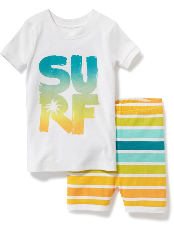 "Pijama OLD NAVY 2-Piece ""Surf"" Graphic Sleep Set for Toddler & Baby"