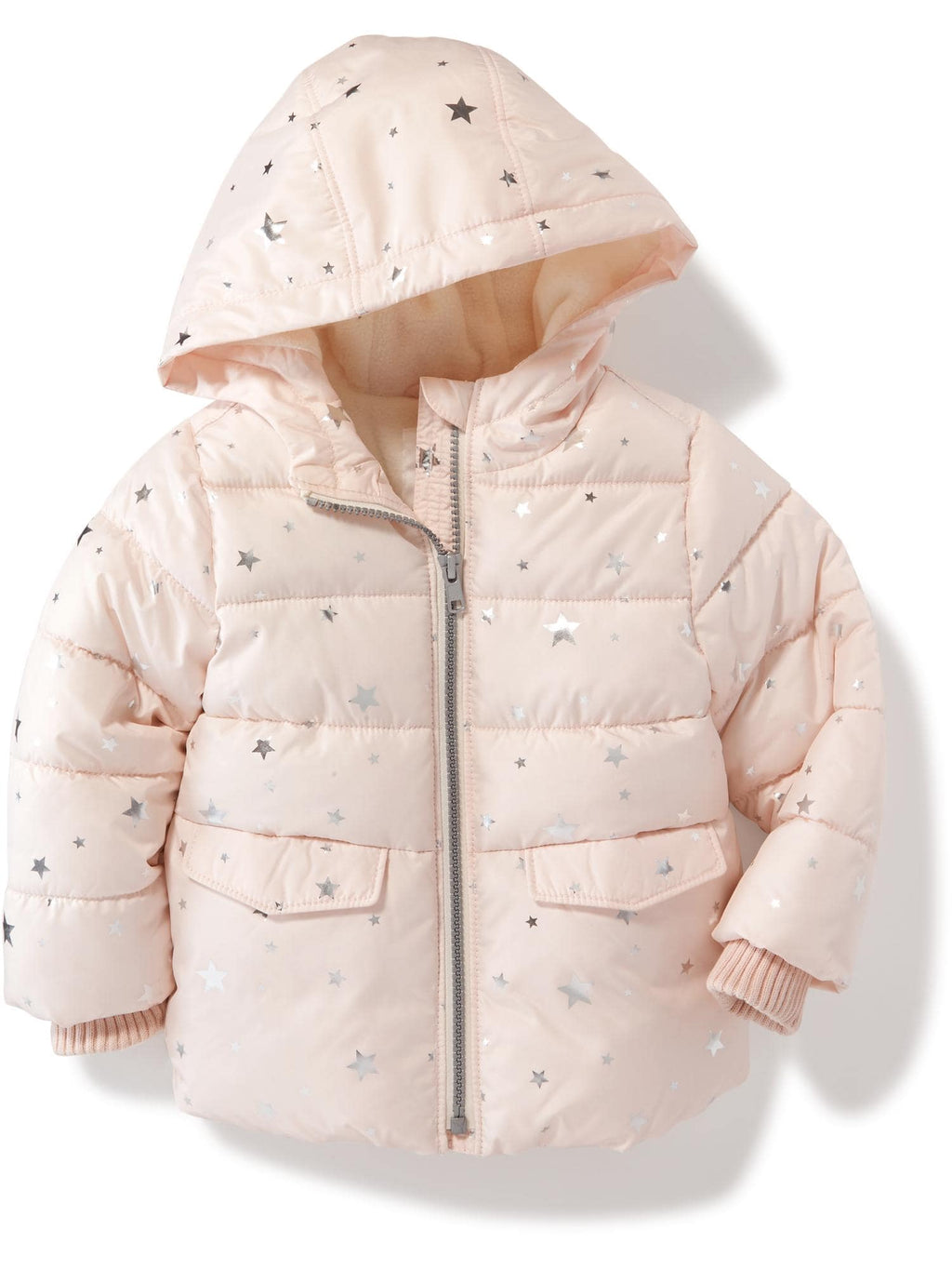 Campera OLDNAVY Frost-Free Hooded Jacket for Toddler Girls