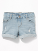 Shorts OLD NAVY Distressed Denim Shorts for Toddler Girls