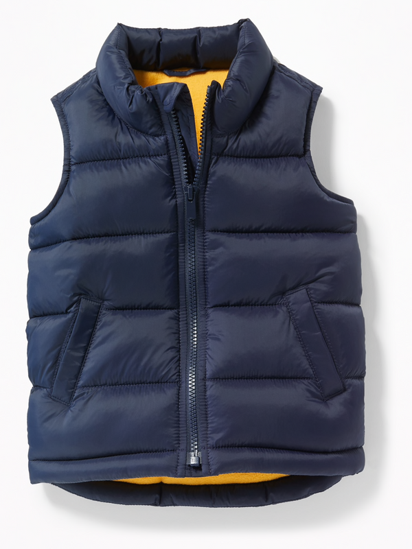 Chaleco OLD NAVY Frost-Free Puffer Vest
