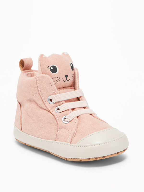 Zapatillas OLD NAVY Sueded Critter High-Tops