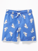 Malla OLD NAVY Functional Drawstring Printed Swim Trunks