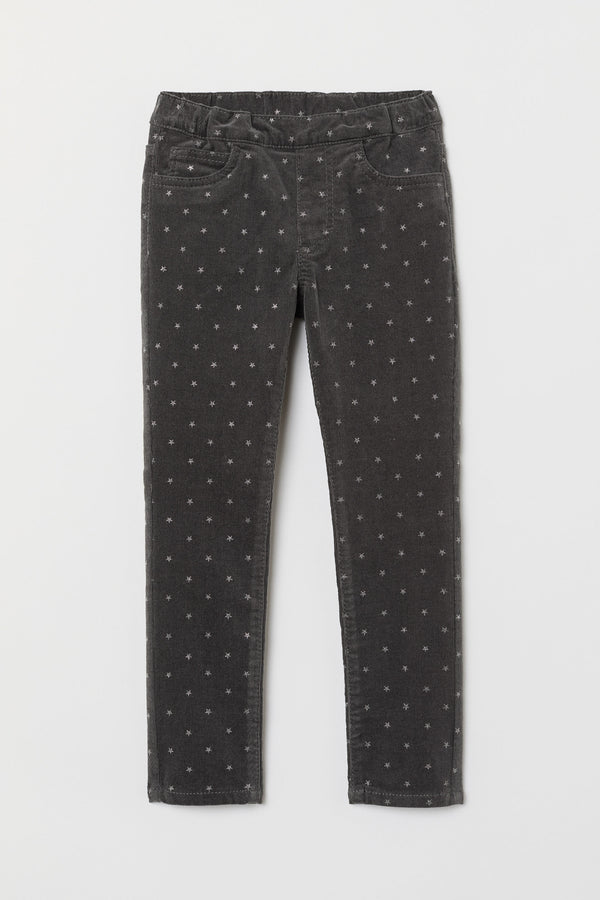 Pantalon H&M Corduroy Treggings