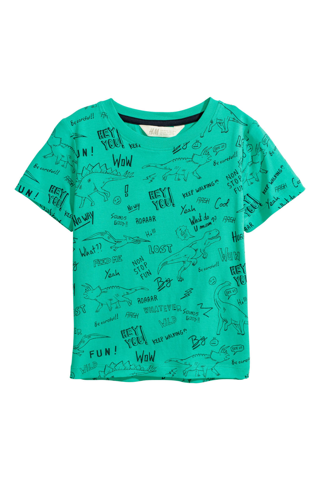 Remera H&M T-shirt with Printed Motif