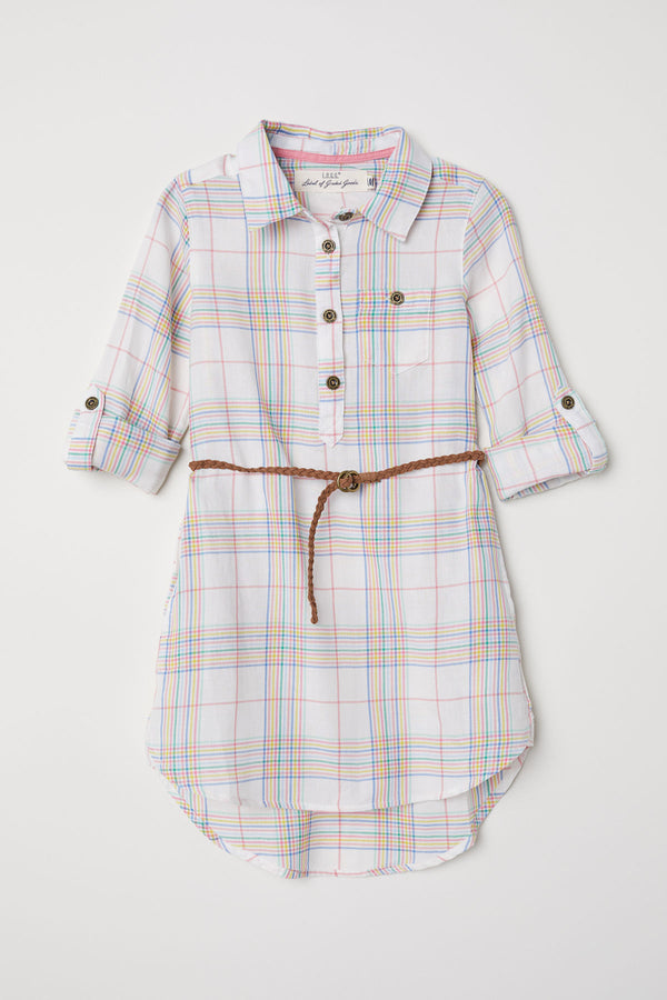 Vestido H&M Shirt Dress