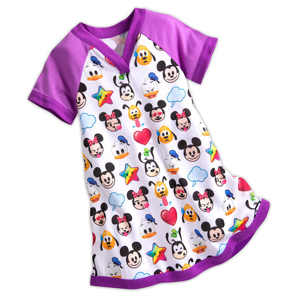 Camison / Vestido DISNEY World of Disney Emoji Nightshirt for Girls