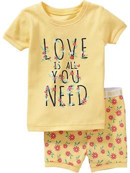 Pijama OLD NAVY Love is All You Need