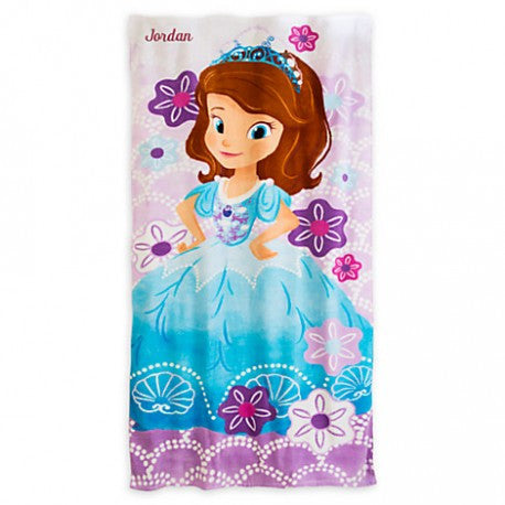 Toallon DISNEY STORE Sofia the First Beach Towel