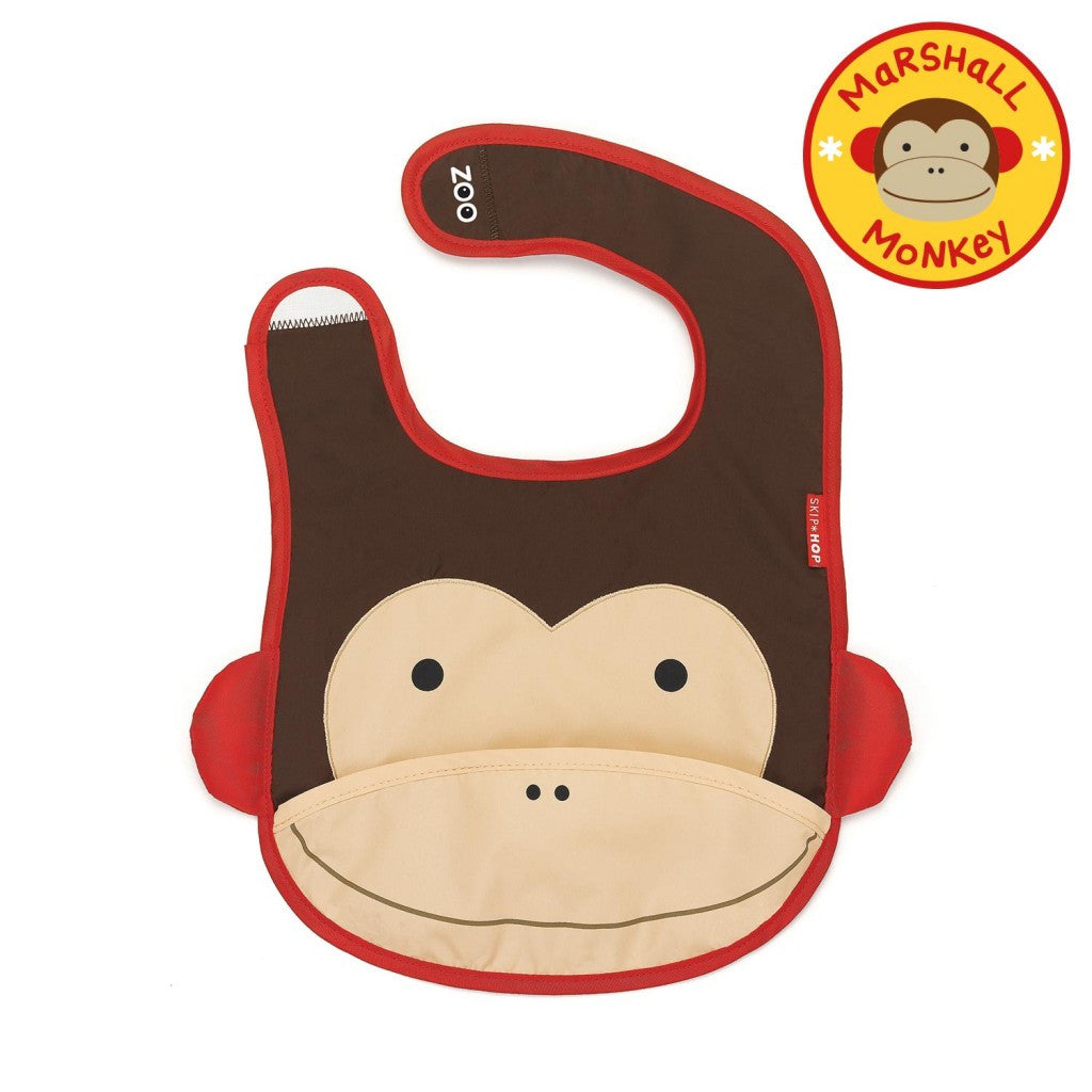 Babero SKIP HOP Zoo Tuck-Away Bib
