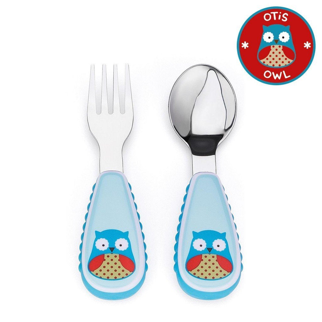 Cubiertos SKIP HOP zootensils Fork and Spoon