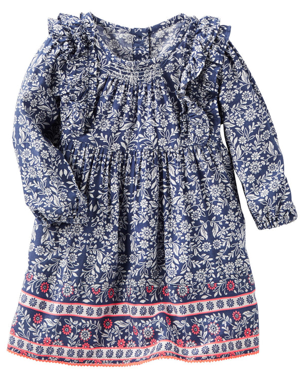Vestido OSHKOSH - Floral Dress