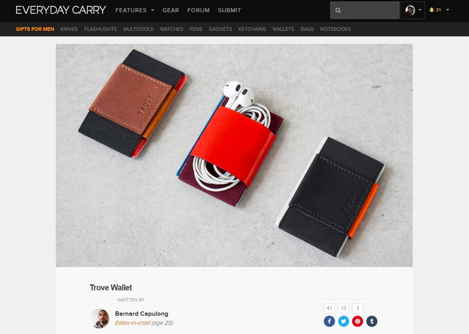 Review by Everydaycarry.com
