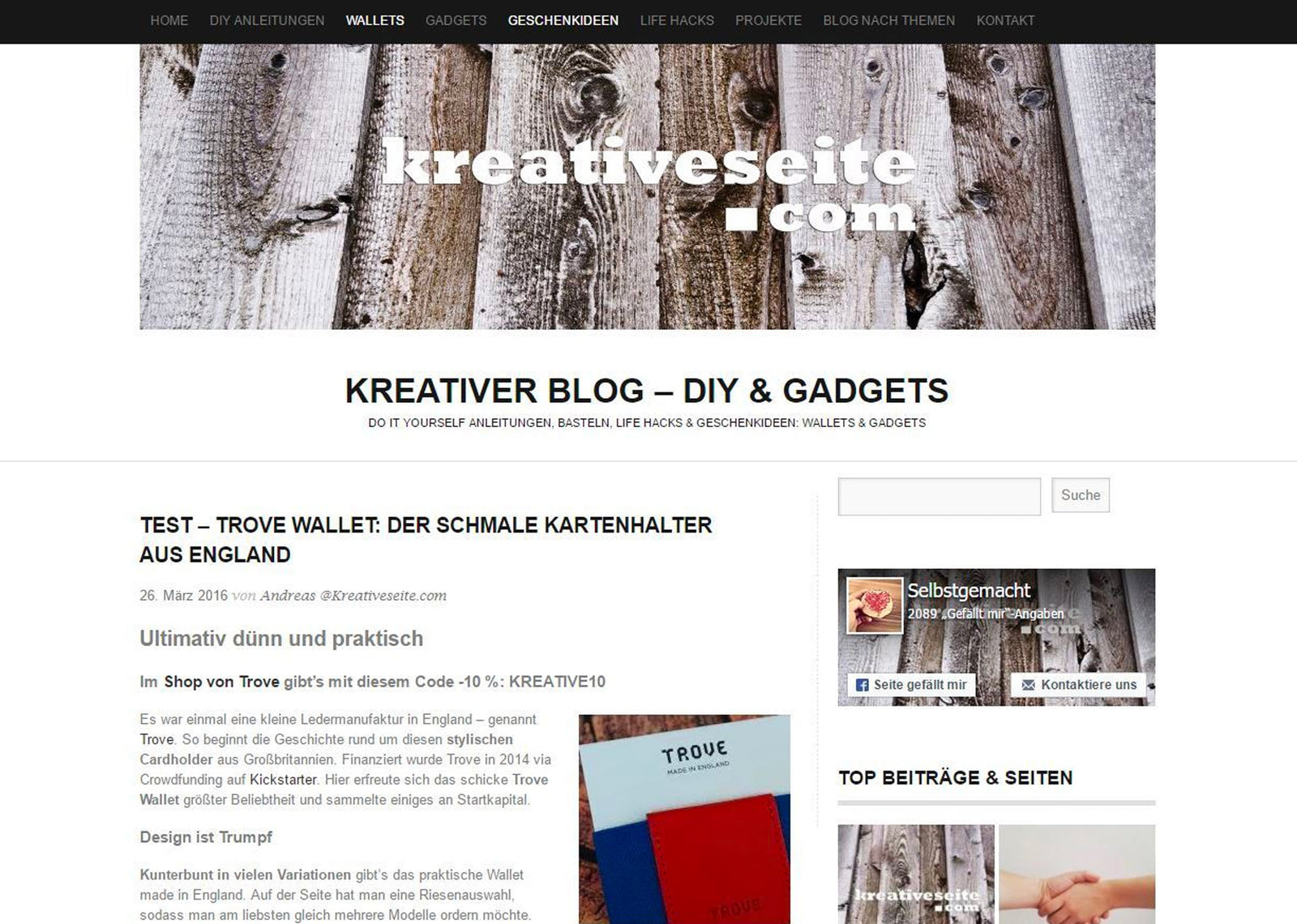 Review by Kreative Seite