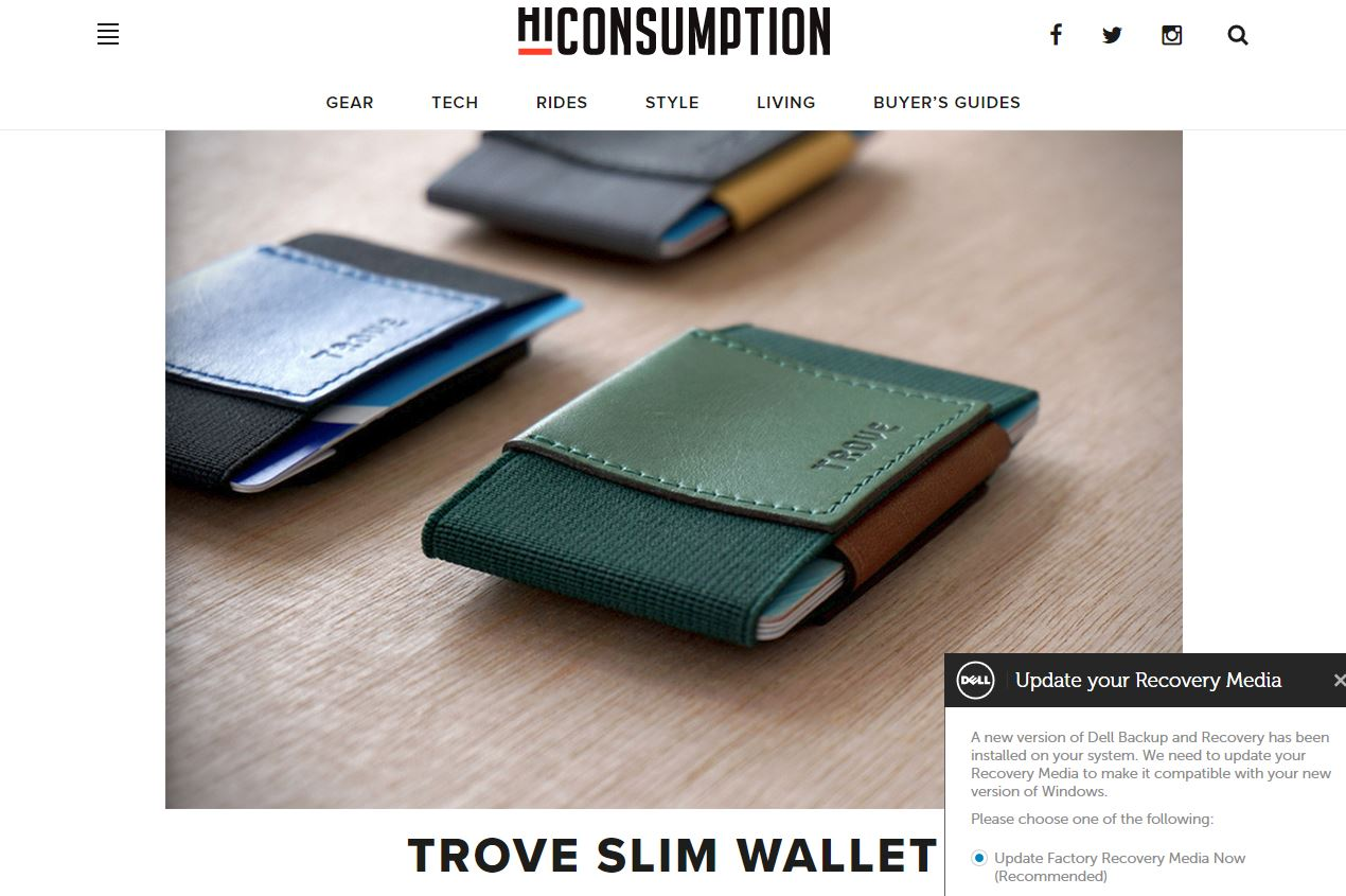 TROVE Wallet review by hiconsumption.com