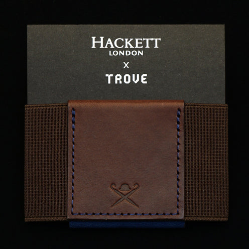 TROVE Wallet: Hackett London x TROVE BROWN