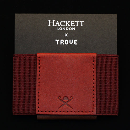 TROVE Wallet: Hackett London x TROVE RED