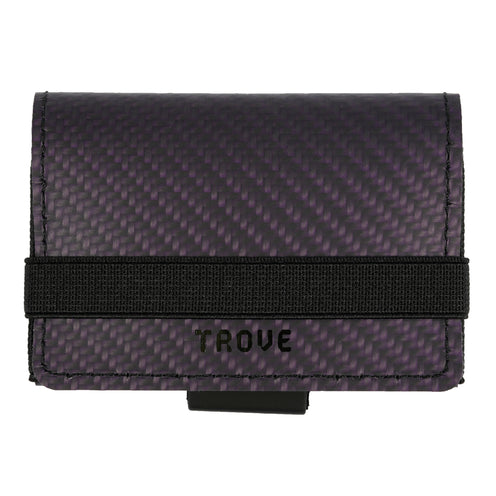 TROVE Cash Wrap: Purple Carbon Fibre