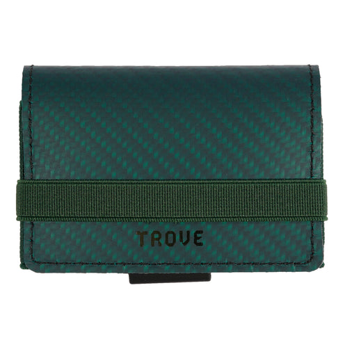 TROVE Cash Wrap: Green Carbon Fibre