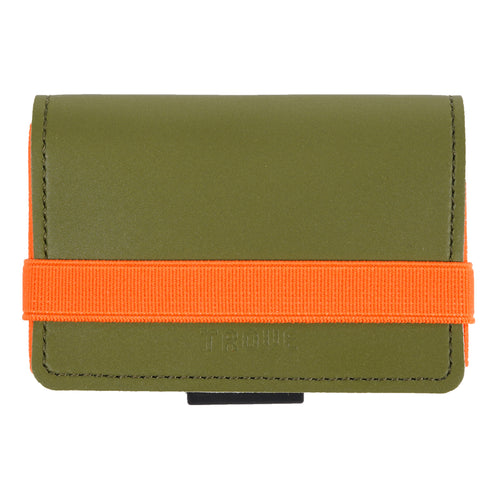 TROVE Cash Wrap: Reflex Khaki Green and Orange