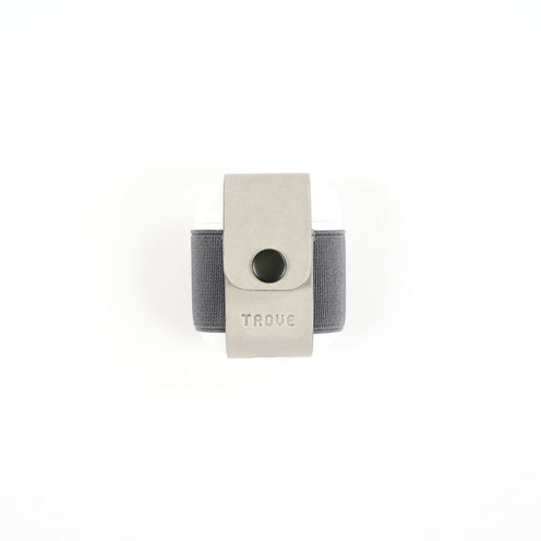 TROVE Pod Pocket: Grey Leather
