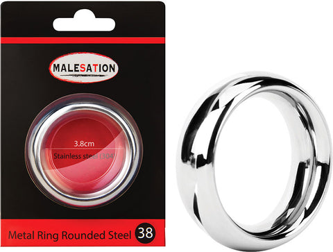MALESATION Metal Rounded Steel 38 - Love SA Shop