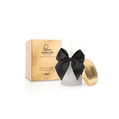 Bijoux Dark Chocolate Massage Candle - Love SA Shop