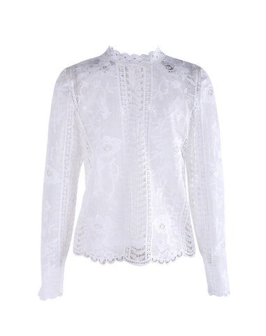 Brocade Dream Blouse Top
