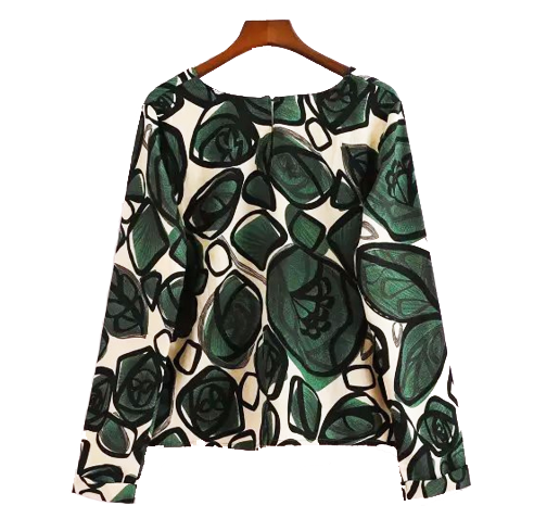 Artsy Blooms Blouse Top
