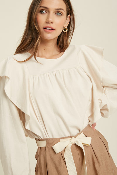 Cream Puff Top