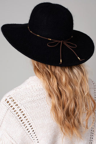 Floppy Wide Brim Felt Hat