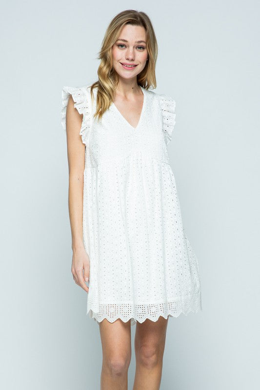 The Perfect Eyelet Dress