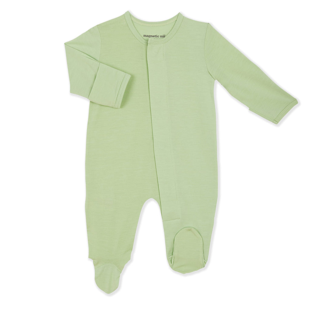 Pastel Green Modal Magnetic Footie
