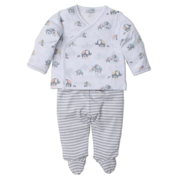 Kissy Kissy Elephant Hugs Pant Set