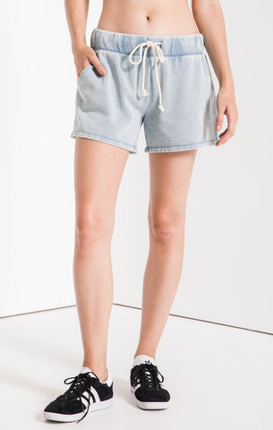 The Knit Denim Short