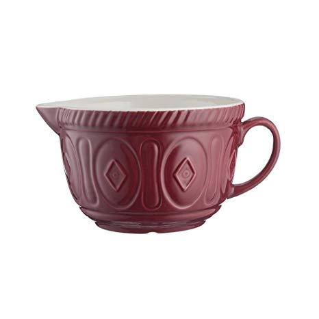 Mason Cash, Batter Bowl, Burgandy