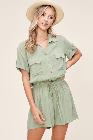 The Olive Romper