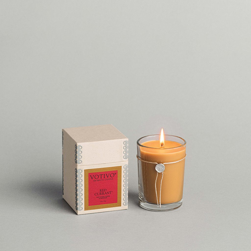 6.8 oz Aromatic Candle - Red Currant